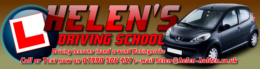 Helen's Driving School is a Basingstoke based driving school offering high quality driving lessons